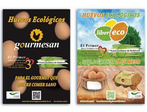 Carteles y Folletos Huevo Ecológico De Andalucía