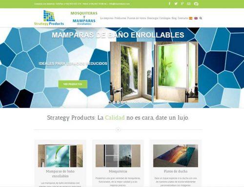 Web Mosquiteras y Mamparas