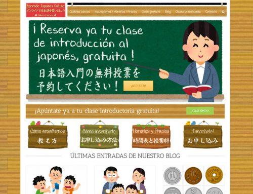 Web Aprende Japonés Online